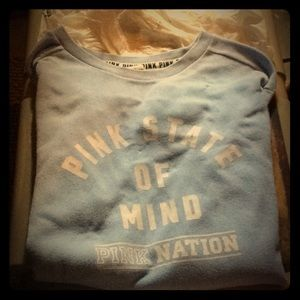 Pink state of mind sweatshirt (oversized)